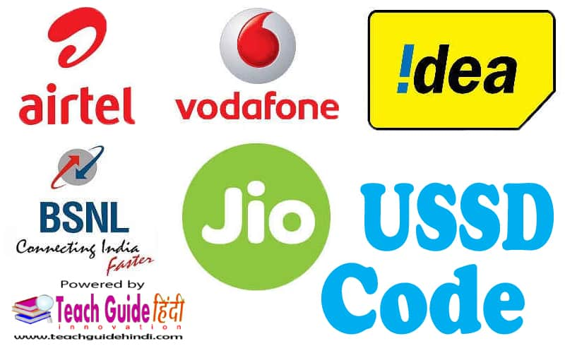 Jio, Vodafone, Idea, Airtel, BSNL, Aircel Sim का Number